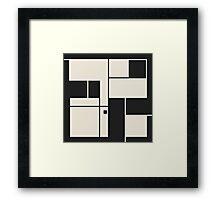 De Stijl / Bauhaus series 1 Framed Print