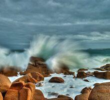 Ocean Fury by sean burke
