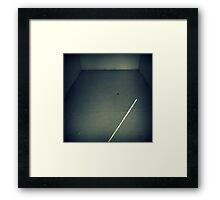 The Disappearance of Hope Framed Print