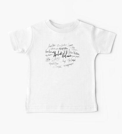 Sherlock Signature Series - Everybody! Baby Tee