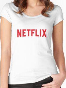 Netflix Women's Fitted Scoop T-Shirt