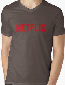 Netflix Mens V-Neck T-Shirt
