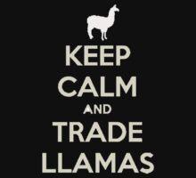 Keep calm and love llamas Kids Clothes