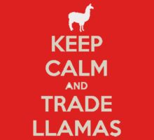 Keep calm and love llamas by Zozzy-zebra