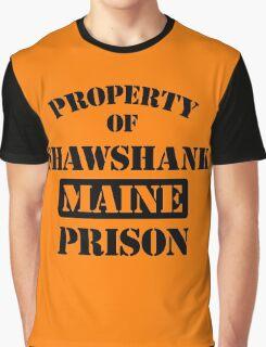 Property Shawshank Maine Prison Graphic T-Shirt