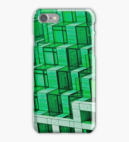 Green Architecture Abstract - iPhone Case iPhone Case/Skin
