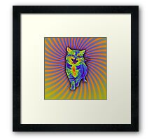 Psychedelic Kitty (Remaster) Framed Print