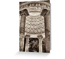 zodiac pavilion rome Greeting Card