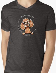 Apricot Toy Poodle :: Its All About Me Mens V-Neck T-Shirt