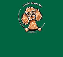 Apricot Toy Poodle :: Its All About Me Womens Fitted T-Shirt