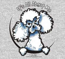 White Toy Poodle :: Its All About Me by offleashart