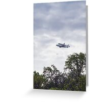 Discovery - Over Potomac Shores Greeting Card