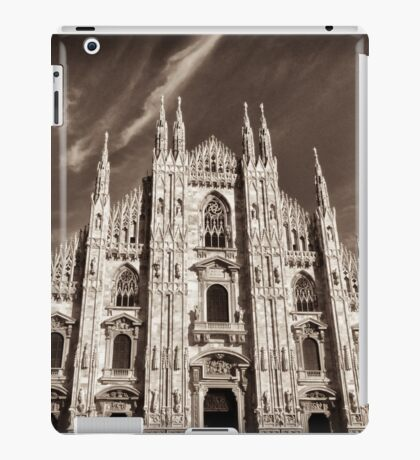 supreme gothic cathedral iPad Case/Skin