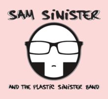Plastic Sinister Band Logo Kids Clothes