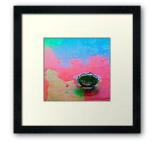 Multi-color Liquid Crown Framed Print