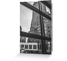 New York City. Greeting Card