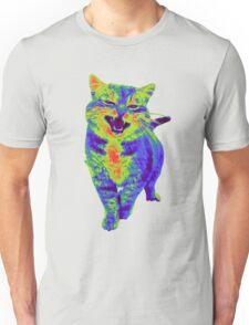 Psychedelic Cat Unisex T-Shirt