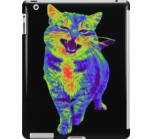 Psychedelic Cat iPad Case/Skin