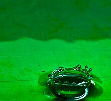 Green liquid Crown by Nicholas Nalbone