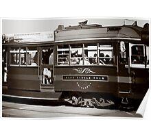 Melbourne City Tram Poster