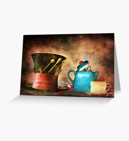The Dormouse Greeting Card