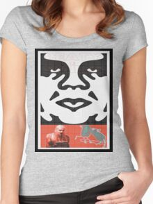 Obey The Band Women's Fitted Scoop T-Shirt