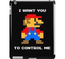 Control Me (Dark Color) iPad Case/Skin