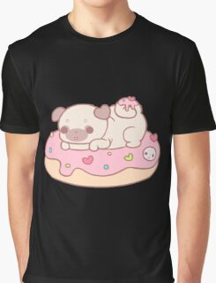 donut pug Graphic T-Shirt