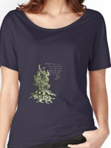 Space plant with space quote Women's Relaxed Fit T-Shirt