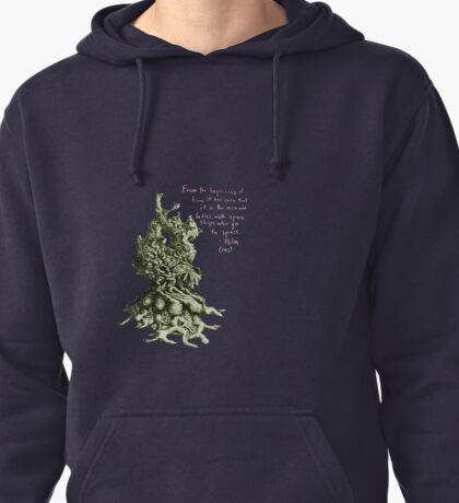 Space plant with space quote Pullover Hoodie