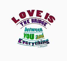 r4~ LOVE IS the bridge Tank Top