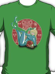Power-up Pin-up- Metroid Shirt T-Shirt