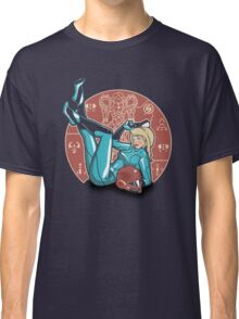 Power-up Pin-up- Metroid Shirt Classic T-Shirt