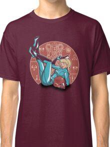 Power-up Pin-up- Metroid Shirt Classic T-Shirt