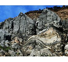 Crumbling Cliffs Photographic Print