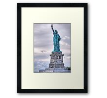 Lady Liberty - NYC Framed Print