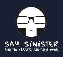 Plastic Sinister Band Logo (Version 2) Kids Tee