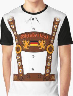 Oktoberfest Lederhosen Costume Graphic T-Shirt