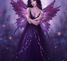 Mirabella Purple Butterfly Fairy by Rachel Anderson