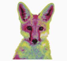 Psychedelic Fox Baby Tee