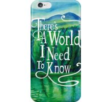 Inspirational Poster iPhone Case/Skin