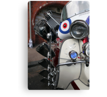 Lambretta SX200 parked and proud. Canvas Print