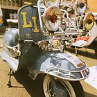 Lambretta LI retro look. by Phil Bower