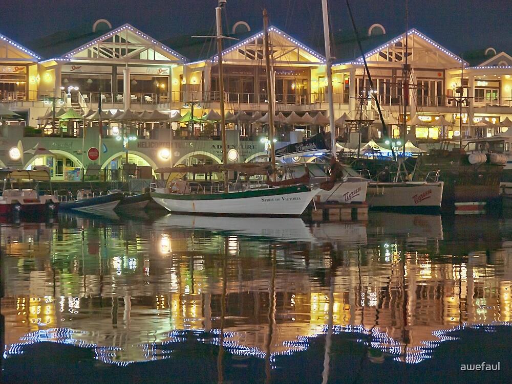 Three gables and a yacht by awefaul