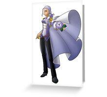 Yolanda, Purple Duelist Greeting Card