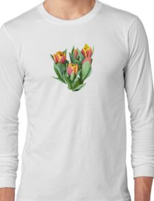 Tulips Just Opening Long Sleeve T-Shirt