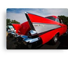 Red Fin Canvas Print