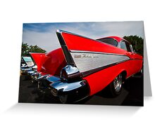 Red Fin Greeting Card