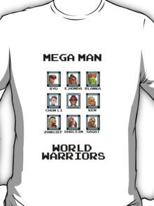 Mega Man - World Warriors T-Shirt