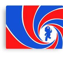 Super Mario Bond Canvas Print